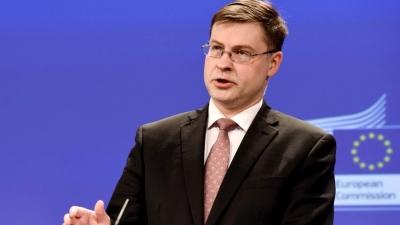 Dombrovskis (Commission): Οι «πράσινες» επενδύσεις να εξαιρούνται  από τον υπολογισμό ελλείμματος – χρέους στους νέους δημοσιονομικούς κανόνες