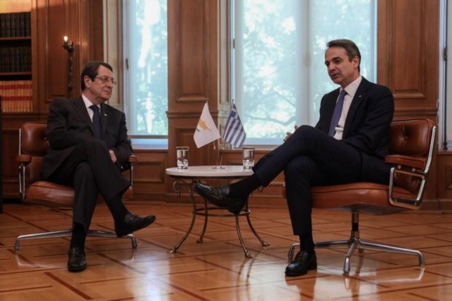 Μητσοτάκης: Συνάντηση με τον Νίκο Αναστασιάδη (Κύπρος) στις 27 Ιουλίου 2021