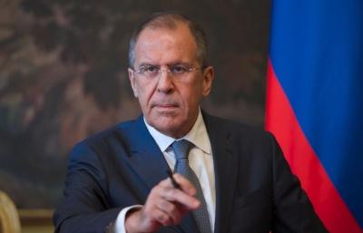 Lavrov (ΥΠΕΞ Ρωσίας): Θα στηρίξουμε την πολιτική διευθέτηση της κρίσης στη Συρία και την εδραίωση της ειρήνης