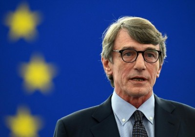 Sassoli (πρ. Ευρωκοινοβουλίου) προς ΕΕ: Ώρα για ισχυρότερη αλληλεγγύη στη διαχείριση ασύλου και μετανάστευσης