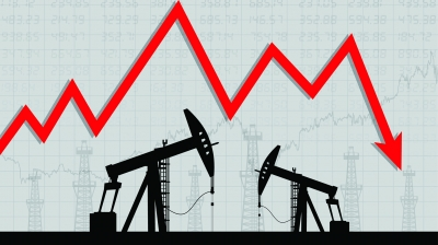 Πτώση για το πετρέλαιο - Στα  63,02 δολάρια το βαρέλι το brent