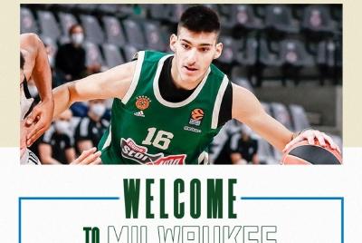 Ανακοίνωσαν τον Καλαϊτζάκη οι Milwaukee Bucks
