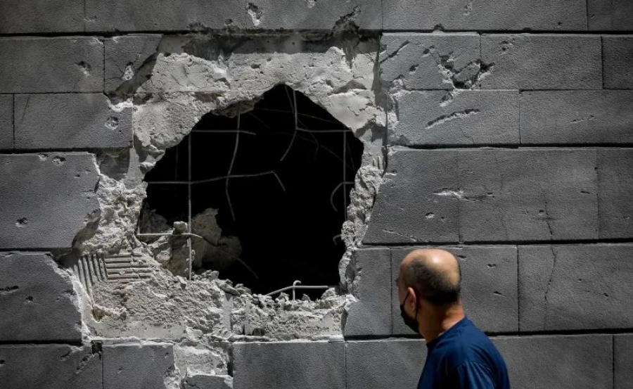 Ισραήλ: Ένας νεκρός κοντά στο Τελ Αβίβ από ρίψη ρουκέτας από τη Γάζα