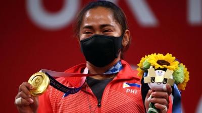 Άρση βαρών: Hidilyn Diaz, η πρώτη «χρυσή» Ολυμπιονίκης των Φιλιππίνων! (video)