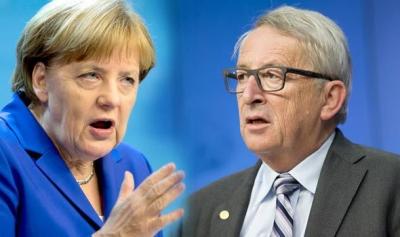 Juncker: To τρέμουλο της Merkel ήταν λανθάνουσα υπερκόπωση