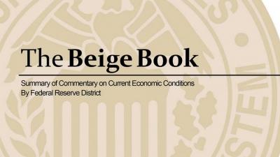 Beige Book (Fed): «Μέτρια» η οικονομική δραστηριότητα στις ΗΠΑ