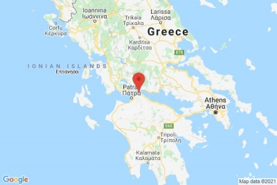 Σεισμός 4,9 βαθμών της κλίμακας Ρίχτερ 18 χιλιόμετρα ΒΑ από Πάτρα... προς Ναύπακτο