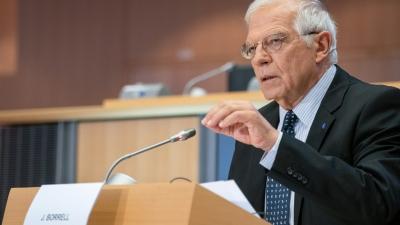 Borrell: Θα έχουμε περίπλοκη και μακρά συνάντηση με τους Υπουργούς Εξωτερικών