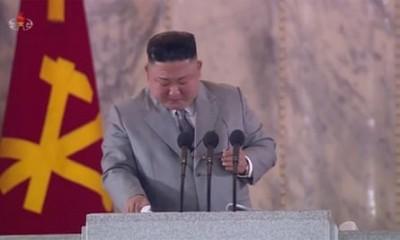 Ο Kim Jong Un ζητά συγγνώμη από τον λαό της Βόρειας Κορέας κλαίγοντας