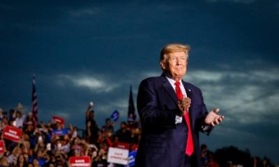 Trump: Προσπαθώ να σώσω την αμερικανική δημοκρατία που βρίσκεται σε κίνδυνο