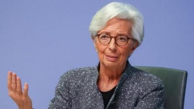 Lagarde (EKT): Αβέβαιη και άνιση η ανάκαμψη στην Ευρωζώνη - Ύφεση -8% το 2020, ανάπτυξη +5% το 2021 - Έως τα τέλη Ιουνίου 2021 το QE