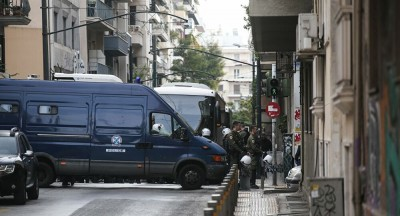 Νέα αστυνομική επιχείρηση στα Εξάρχεια για την εκκένωση υπό κατάληψη κτηρίων