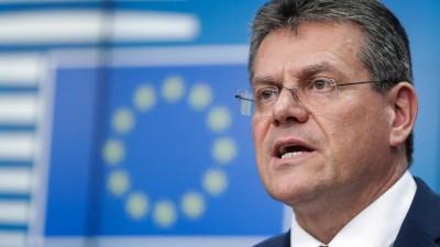 Sefcovic (Ευρ. Επιτροπή): Η ΕΕ θα εργαστεί μέχρι τέλους για μια εμπορική συμφωνία με την Βρετανία