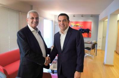 Συνάντηση Τσίπρα-Κυπριανού: H επανέναρξη των διαπραγματεύσεων η μόνη λύση για το Κυπριακό