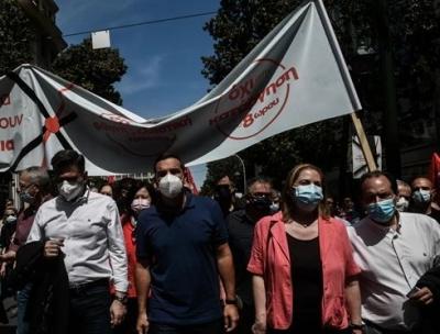 Τσίπρας: Ευκαιρία η πανδημία για τον Μητσοτάκη για να επιβάλλει ότι πιο αντιλαϊκό στον κόσμο της εργασίας