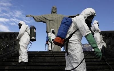 Βραζιλία: Aύξηση ρεκόρ των θανάτων από τον κορωνοϊό
