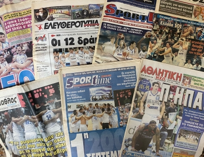 Ελλάδα - ΗΠΑ 101-95: Τα εξώφυλλα του θριάμβου και η... προφητεία της νίκης