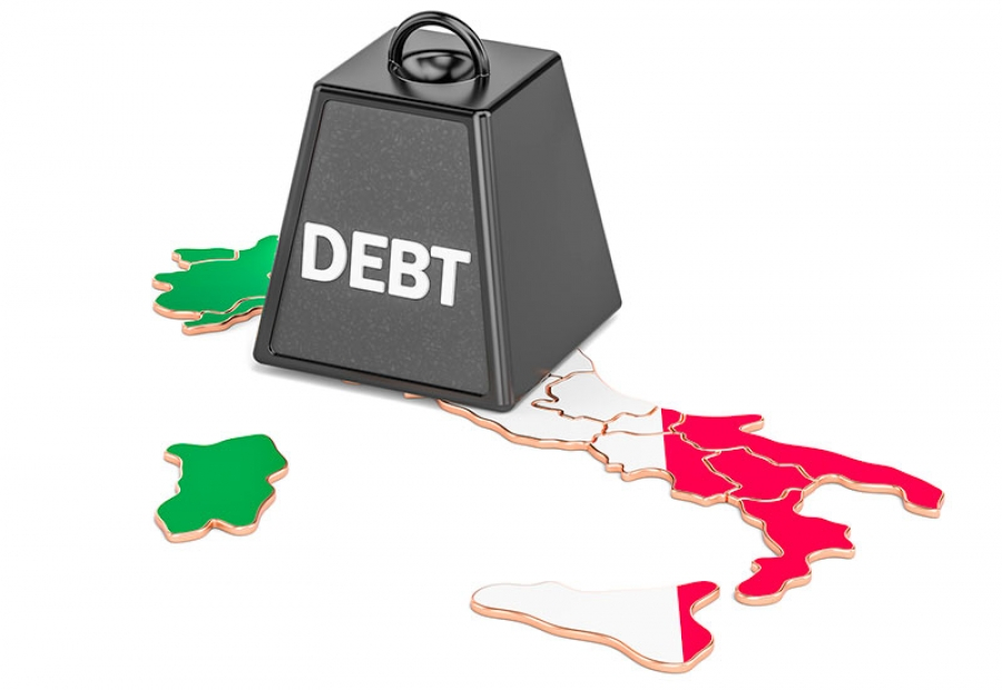 Ιταλία: Επιδείνωση των προοπτικών, στο 10% το έλλειμμα και στο 159% το χρέος για το 2021