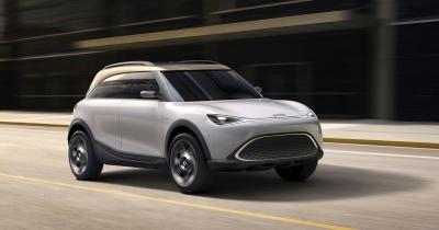 Έτσι θα είναι το ηλεκτρικό Smart SUV