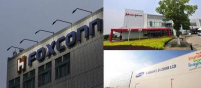 Η Κίνα κλείνει Foxconn, Johnson & Johnson και τα εργοστάσια της Samsung λόγω κοροναϊού