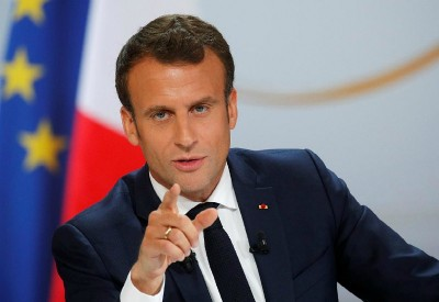 Macron (πρόεδρος Γαλλίας): Να επανέλθουν οι σύνοδοι του Ευρωκοινοβουλίου στο Στρασβούργο από Οκτώβριο