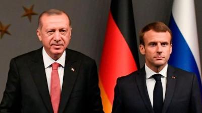 Νέο γαλλικό μήνυμα στον Erdogan: Θέλουμε πράξεις και όχι κατευναστικές δηλώσεις – Η Τουρκία να σταματήσει τις προκλητικές ενέργειες