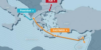 Ελλάδα και Ισραήλ επιβεβαίωσαν τη στήριξή τους στον αγωγό EastMed
