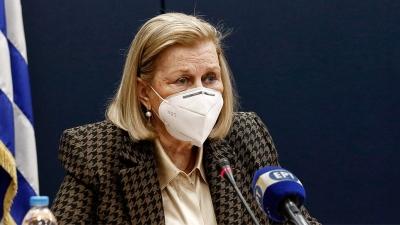 Θεοδωρίδου: Η τήρηση των μέτρων προστασίας ισχύει για εμβολιασμένους και μη