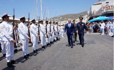 Αποστολάκης: Συνεχής η προσπάθεια για να διατηρήσουμε την ηρεμία και να χαμηλώσουμε τις εντάσεις στο Αιγαίο