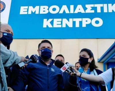 Στην Κέρκυρα ο Χαρδαλιάς: Είμαστε σε ένα κομβικό σημείο, δεν πρέπει να κάνουμε κανένα πισωγύρισμα