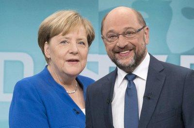Merkel: Είμαι έτοιμη για συνομιλίες με το SPD - Schulz: Προς συζήτηση είναι όλες οι επιλογές