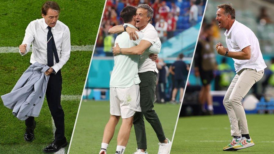 Οι τέσσερις προπονητές των ημιτελικών του EURO: Ποιος το έχει, ποιος το... ψάχνει και ποιοι θα επικρατήσουν