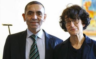 Ιδρυτές της BioNTech: Εμβόλια και για τον καρκίνο σε 2-3 χρόνια - Τι αναφέρουν ο Ugur Sahin και η Özlem Türeci για την πανδημία