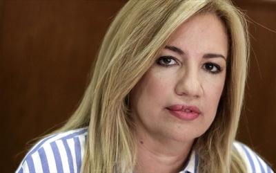 Γεννηματά: Η κυβέρνηση να εξασφαλίσει την σαφή καταδίκη της Τουρκίας από το Ευρωπαϊκό Συμβούλιο