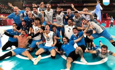 Βόλεϊ ανδρών, Αργεντινή – Βραζιλία 3-2: «Χάλκινοι» Αργεντίνοι στο Τόκιο