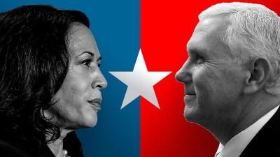 Debate ΗΠΑ: Κέρδισε τις εντυπώσεις ο Pence (Ρεπουμπλικάνος) της Harris (Δημοκρατικοί)