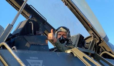 «Ηνίοχος 2021» - Η πτήση του Pyatt με F 16 και το μήνυμα του για Ελλάδα και ΗΠΑ
