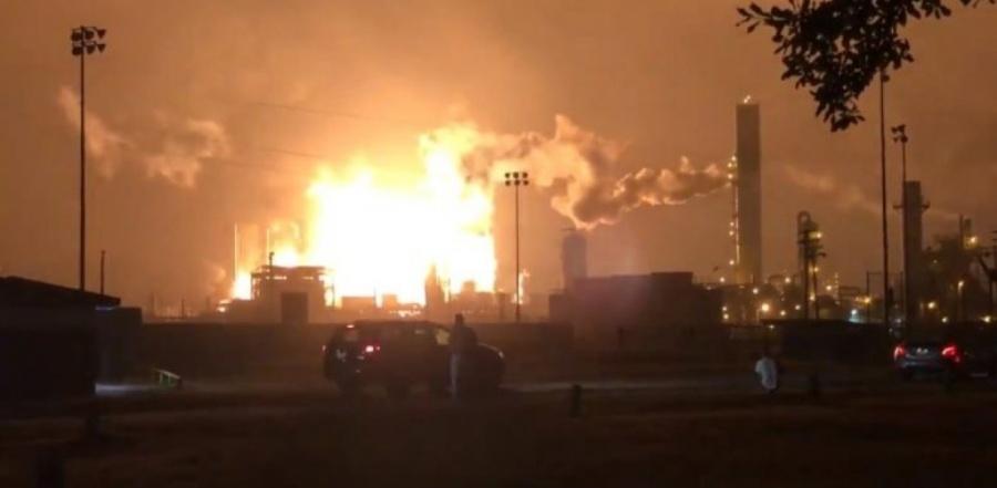 Ισπανία: Συναγερμός στην Ταραγόνα, λόγω έκρηξης και πυρκαγιάς σε πετροχημικό συγκρότημα