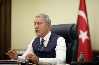 Μετά την ένταση με Oruc Reis η Τουρκία… επιθυμεί διάλογο και καλή γειτονία με την Ελλάδα – Akar: Ας λύσουμε τα προβλήματα, αλλά χωρίς τετελεσμένα