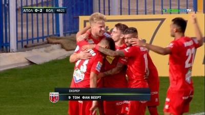 Απόλλων Σμύρνης – Βόλος 0-2: Déjà vu και δεύτερο γκολ για τους Βολιώτες! (video)