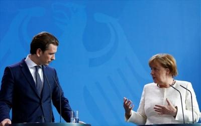 Τηλεδιάσκεψη Merkel - Kurz ενόψει της Συνόδου Κορυφής της ΕΕ επί συγκλήσεων και αποκλίσεων