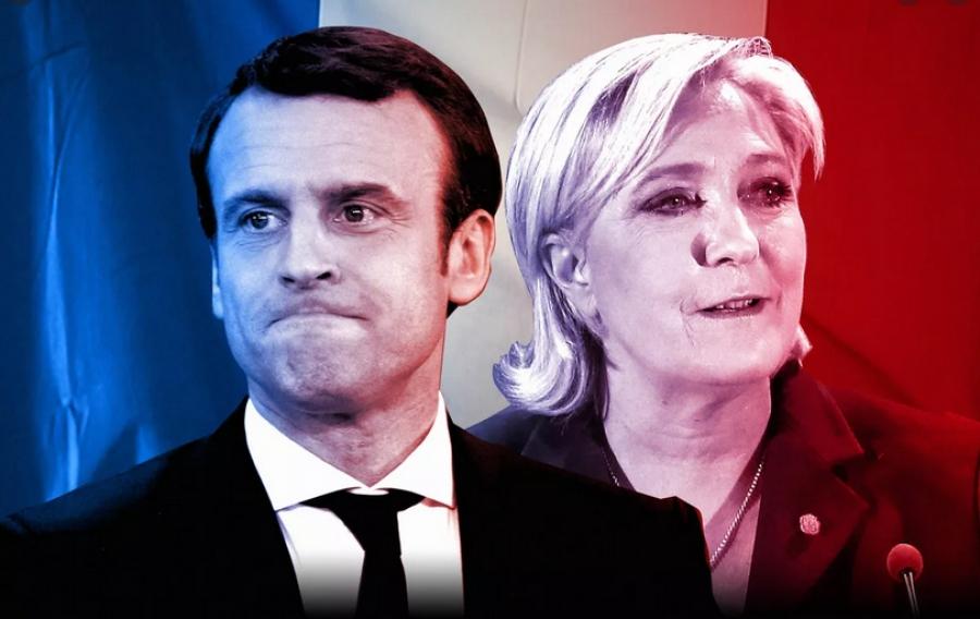Μεγάλη ισχυροποίηση της Le Pen στην Γαλλία στο 48% για τις προεδρικές εκλογές έναντι 52% του Macron
