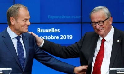 Tusk: Δεν θα αποφασίσουμε ποτέ ένα άτακτο Brexit – Juncker: Πρώτα θα ψηφίσει το Λονδίνο, μετά οι Βρυξέλλες