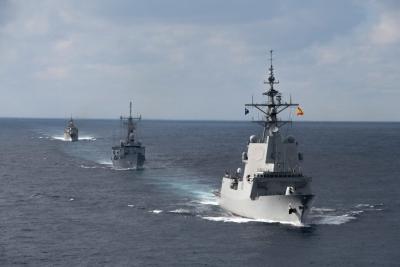 Συνεκπαίδευση μονάδων του Πολεμικού Ναυτικού και της Αεροπορίας με τη Συμμαχική Ναυτική Δύναμη SNMG2