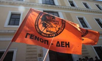 Μέλη της ΓΕΝΟΠ απέκλεισαν την πύλη του ΑΗΣ Μελίτης για να εμποδίσουν την είσοδο των επενδυτών