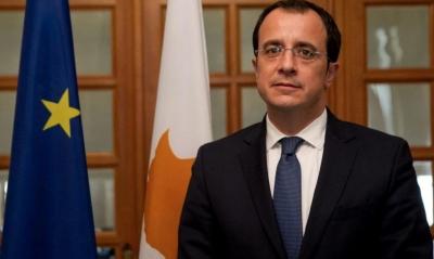 Ν. Χριστοδουλίδης (ΥΠΕΞ Κύπρου): Δεν τίθεται θέμα συζήτησης αλλαγής της βάσης λύσης του Κυπριακού