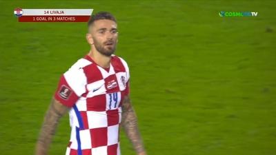 Κροατία – Σλοβενία 1-0: Προβάδισμα για την Κροατία με το πρώτο γκολ του Μάρκο Λιβάγια! (video)