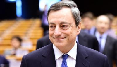 Υποβαθμίζει την πρόταση του κεντρικού τραπεζίτη της Ιρλανδίας για εγγυημένα ομόλογα ο Draghi