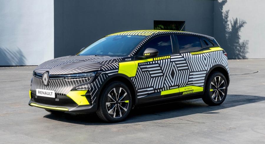 Renault: Επίσημες εικόνες για το ηλεκτρικό Megane E-Tech