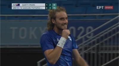 Τένις: Δεν πιστεύει τον winner του ο Τσιτσιπάς! (video)